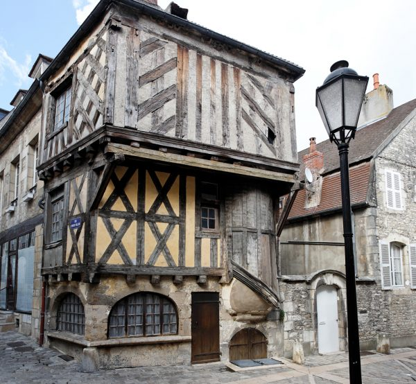 Clamecy, historic center