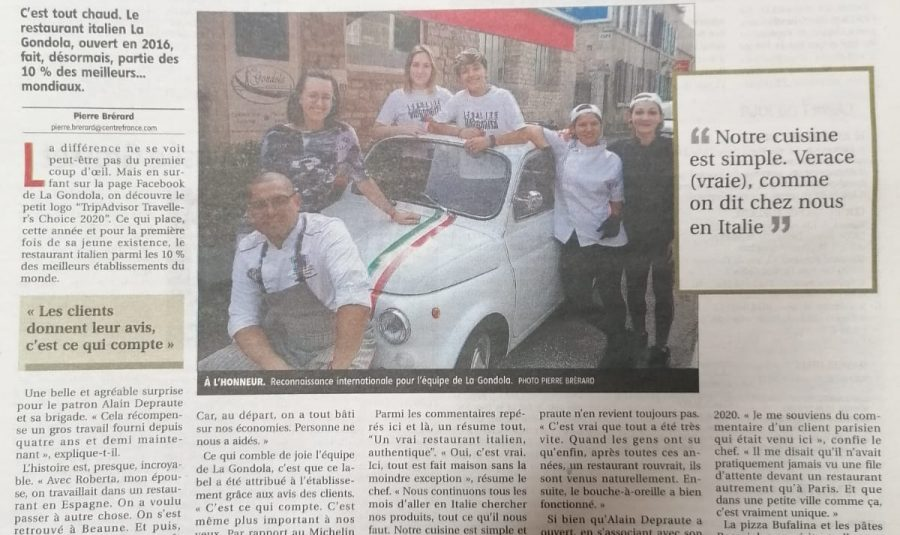 La Gondola Journal du centre de Clamecy