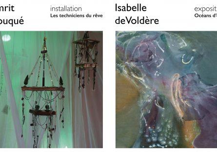 Expositions » Océan d'encre » de Isabelle de Voldère & «Les techniciens du rêve » de Amrit Douqué