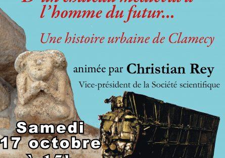Conférence Société scientifique et artistique de Clamecy